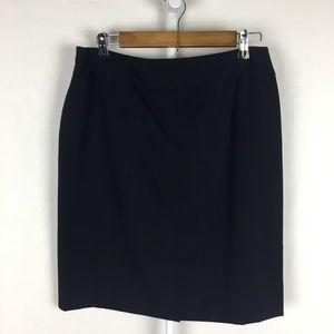 Worthington navy blue skirt 12 petite